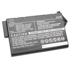vhbw Akku passend für CTX NB8600, SmartBook V Laptop, Notebook (6600mAh, 10.8V, Li-Ion)