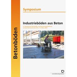 Industrieböden aus Beton als Buch von Rolf Breitenbücher