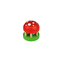 Voggenreiter Spielzeug-Musikinstrument Musik für Kleine: Pilz-Glöckchen