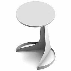 TAPA Beistelltisch mit Metallgestell, Ø 45cm