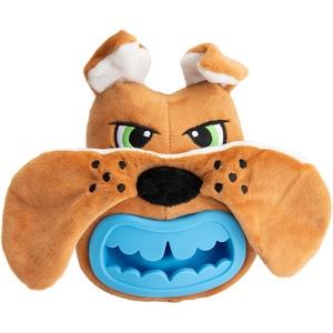 Hunde-Plüschspielzeug Treat Hider Dog braun-blau, Maße: ca. 14 x 12 cm
