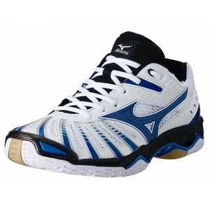 Mizuno Wave Stealth 2 4 white/victoria blue/black