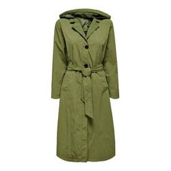 ONLY Oversize Mantel Damen Grün Female M