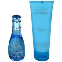 Davidoff Cool Water Woman Eau de Toilette 30 ml + Body Lotion 75 ml Geschenkset