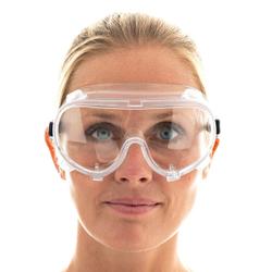 HYGOSTAR® Comfort Vollsichtschutzbrille, Schutzbrille als Überbrille für Brillenträger geeignet, 1 Stück, Einheitsgröße