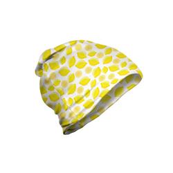 Abakuhaus Beanie Wandern im Freien Zitronen Köstliche Zitrusfrüchte Kunst