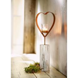 HomeLiving Kerzenhalter Herz