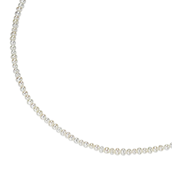 Smart Jewel Smart Jewel Collier Süßwasserperlen, Silber 925