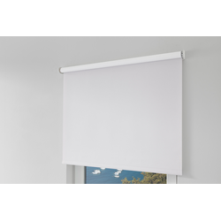 Erfal Smartcontrol Rollo by Homematic IP, 90 x 160 cm (B x H), blickdicht abdunkelnd weiß