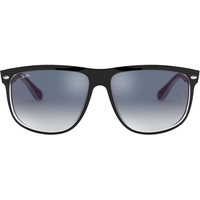 Ray Ban RB4147 56mm black / blue mirror red