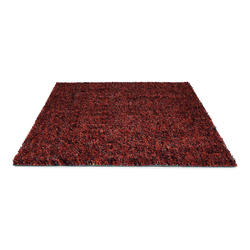 Schurwollteppich Dots (Rot; 250 x 350 cm)