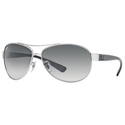RAY BAN Sonnenbrille RB3386 silberfarben L