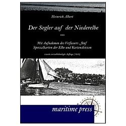 Der Segler auf der Niederelbe (1919). Heinrich Albrecht  - Buch