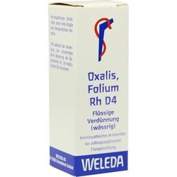 OXALIS FOLIUM RH D 4