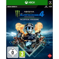 Monster Energy Supercross - The Official Videogame 4 [Xbox Series X