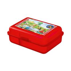 United Labels® Brotschale Brotdose Playmobil Feuerwehr rot