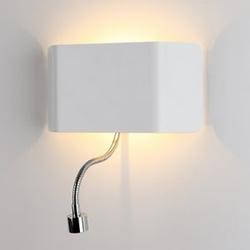 LED-Wandleuchte NEW BRIDGE mit LED Leselampe