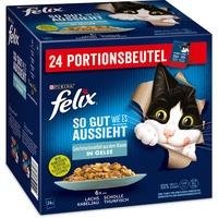 FELIX FELIX, Katzen Nassfutter So gut wie es aussieht 4 Kartons à 8160 g