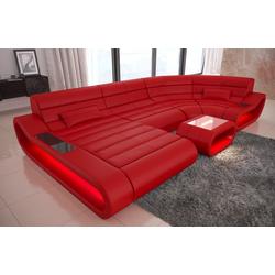 Sofa Dreams Sofa Concept, U Form rot