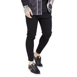 Siksilk Skinny-fit-Jeans SikSilk Jeans Herren DROP CROTCH DENIMS SS-19356 Black XL