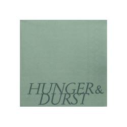 """Räder Design Papierserviette DINING SERVIETTEN """"HUNGER & DURST"""""""