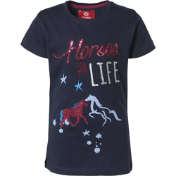 RED HORSE T-Shirt RED HORSE T-Shirt für Mädchen blau 164
