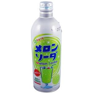 Sangaria Ramune Flasche, Melonengeschmack, 500 ml