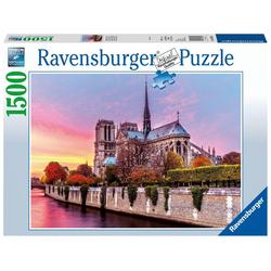Ravensburger Puzzle Malerisches Notre Dame. Puzzle 1500 Teile, Puzzleteile