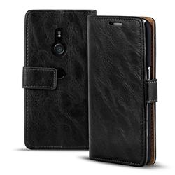 Retro Tasche für Sony Xperia XZ3 Hülle Wallet Case Handyhülle Vintage Slim Cover