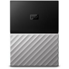 Western Digital My Passport Ultra 2 TB USB 3.0 schwarz/grau WDBFKT0020BGY-WESN