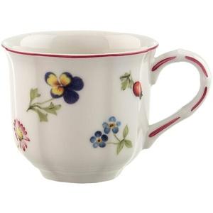 Villeroy & Boch Petite Fleur Kaffeeobertasse, Premium Porzellan