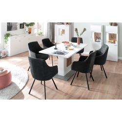 MCA Sassello 4 Fuß Stuhl mit Armlehne