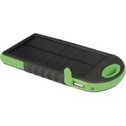 Velleman Solar Powerbank PCMP32 Solar-Ladegerät Ladestrom Solarzelle 200mA Kapazität (mAh, Ah) 500