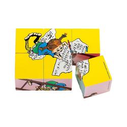 Micki Würfelpuzzle Pippi Langstrumpf Würfelpuzzle, 6 Teile, Puzzleteile