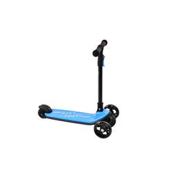 ANVASK Dreirad Dreiradscooter Kinderroller Dreirad mit 3 LED-Rädern, faltbar, Höhe einstellbar, Bremse blau