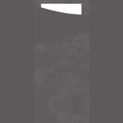 DUNI Sacchetto Serviettentaschen, Tissue, Praktische Bestecktasche, 1 Karton = 5 x 100 Stück, Farbe: granite grey