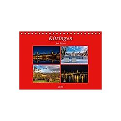 Kitzingen am Main (Tischkalender 2021 DIN A5 quer)
