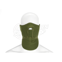 Neopren Gesichtsmaske oliv