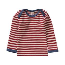 Engel Unterhemd Baby Unterhemd aus 100% Merinoschurwolle rot 74/80