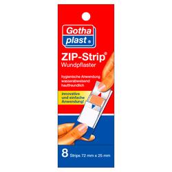 ZIP-STRIP wasserabweisend 25x72 mm 8 St