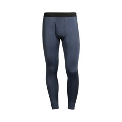 Lange Seiden-Unterhose - S - Grau