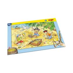 Haba Puzzle Rahmenpuzzle 25 Teile - Piratengold, Puzzleteile
