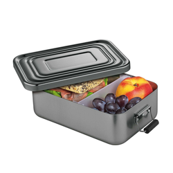 KÜCHENPROFI Lunchbox Lunch Box 18 x 12 x 5 cm anthrazit