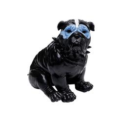 KARE Spardose Spardose Blue Mask Bulldog Schwarz
