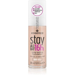 Essence Stay ALL DAY 16h Wasserbeständiges Make-up Farbton 20 Soft Nude 30 ml