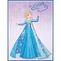 Vervaco Kreativset Vervaco Diamanten Malerei Packung Disney Elsa