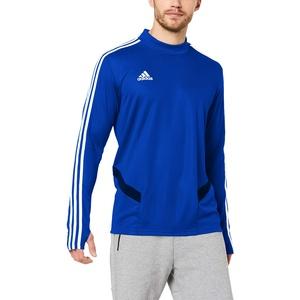 adidas Herren TIRO19 TR TOP Sweatshirt, Bold Blue/Dark Blue/White, XL