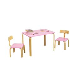 COSTWAY Kindersitzgruppe 3tlg. Kindersitzgruppe rosa