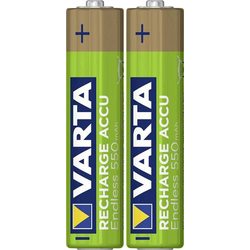 Varta Endless Ready to Use Micro (AAA)-Akku NiMH 550 mAh 1.2V 2St.