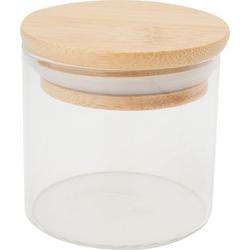 VBS Vorratsglas Bini, Bambus, mit Bambusdeckel 150 ml